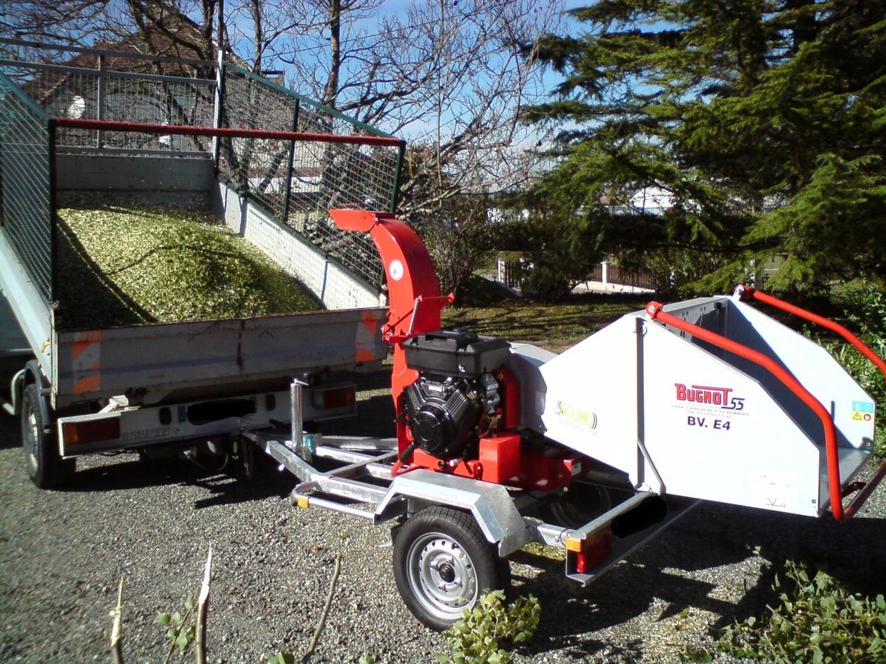 broyage des végétaux pour revalorisation